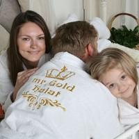 Махровый халат - как идея подарка