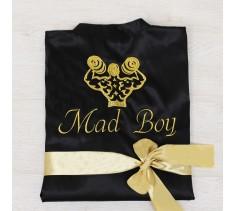 Халат шелк: Mad Boy